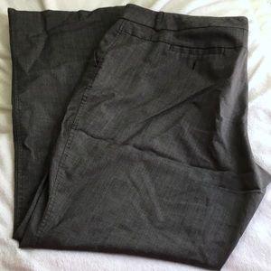 New York and Company gray work pants